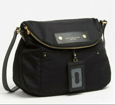Black Marc Jacobs Preppy Sasha Nylon Crossbody Handbag Moo14625