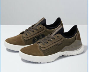 Vans City Cmt Utility Olive Marshmallow Sneaker Half Box Men's Size 6.5
