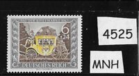 MNH WWII Germany stamp / Third Reich / 1943 Stamp day / Hitler's Culture fund