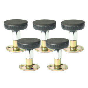 5x 47-64mm Threaded Bed Frame Anti-Shake Tool Bed Headboard Stopper Easy Install