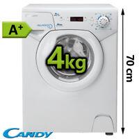 Waschmaschine 4 kg Mini klein Single Frontlader 1000 U/min Display EEK A+ Candy