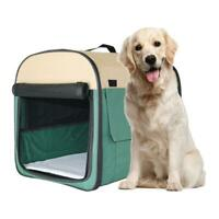 New Outdoor Portable Pet Dog Cat Crate Kennel for Travel Training Home L XL