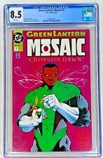 Green Lantern: Mosaic #3 CGC 8.5 WP VF+ DC 1992 Cully Hamner Crimson Dawn