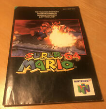 Nintendo Super Mario 64 Game Manual Only Pal N64 Console System Retro (No Game)