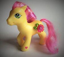 LITTLE PONY – ROYAL BOUQUET - 3D FLOWER – Giallo PONY-Rosa Shaded MANE & Coda