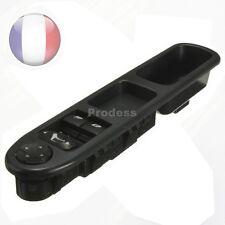 Commande Bouton Leve Vitre + retroviseur Peugeot 207 6554.QC 96548591XT