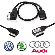 Media-In Audi VW Micro USB MDI AMI MMI AUX Audio Cable Adaptor Interface Lead UK