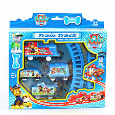 Paw Patrol Doll Figures Electric Train Track Set Kids Baby Boy Girl Toy Gift