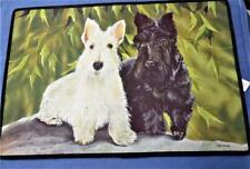 """Scottie Dog 18"""" x 27"""" Rug Scottish Terrier Nice!"""