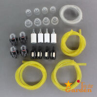 New 4 Sizes Tygon Fuel Filter Line Primer Bulb Kit For Poulan Weedeater Chainsaw