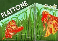 Original vintage print FLATTONE DUTCH SILK SCREEN PRINTERS c.1930