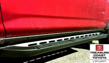 NEW OEM 2010-2020 TOYOTA 4RUNNER TRAIL TEAM EDITION BLACK RUNNING BOARDS 2 PIECE