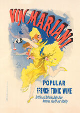 Vin Mariani by Jules Cheret 90cm x 64cm Art Paper Print