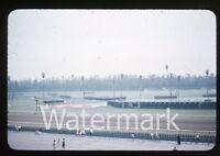 1950s Kodachrome Photo slide Hollywood Park Horse Racing Los Angeles CA  #2
