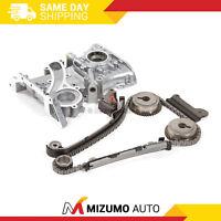 Timing Chain Kit Oil Pump Fit 01-06 Nissan Sentra 1.8L QG18DE DOHC