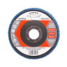 FLAP GRINDING SANDING DISCS 115mm 40 60 80 120 Grit Angle Wheel ZIRCON by SHARK