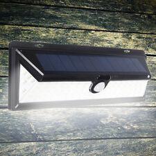 Large 90 LED PIR Solar Motion Sensor Light Outdoor Garden Security Wall Lights