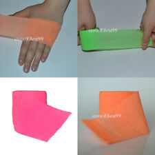 "2""x5 12 Rolls 3 Colors Self Adhesive Non-woven Cohesive Fluorescent Bandage"