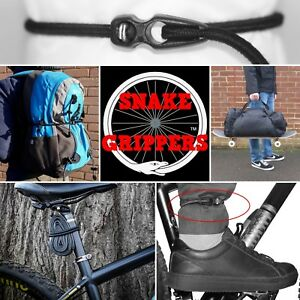 Snake Grippers Unique Adjustable Shock Cord Bungee Cycling Bike Luggage MTB Hike