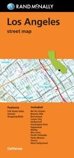Los Angeles, California, Street Map, by Rand McNally