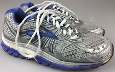 Brooks Ariel Adaptable Women's Size 8 Running Shoes Silver/Blue