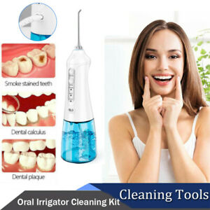 Ultrasonic Electric Tooth Cleaner Teeth Stain Dental Oral Irrigator Cleaning-Kit