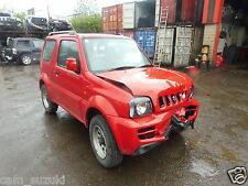 2008 Suzuki Jimny 1.3 gasolina en rojo romper para N/S Espejo de puerta eléctrica en Rojo