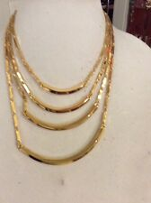 Vince Camuto Go To Basis Gold tone 4  Tiered Necklace. VC-23