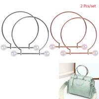 Metal Bag Handle Handbag Purse Replacement Handles DIY Making Accessories  QA