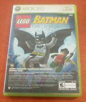 LEGO Batman The Videogame + Pure Microsoft Xbox 360 DC WB Disney Tt Games