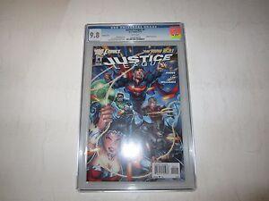 Justice League New 52 # 4 Variant CGC 9.8, Batman Wonder Woman Superman, Awesome