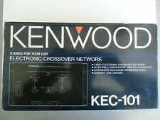 KENWOOD, Model KEC-101, 2 Way, Electronic Car Stereo Crossover Network,