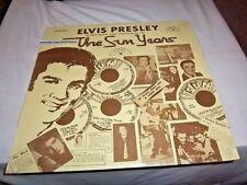 ELVIS PRESLEY-THE SUN YEARS-SUN 1001 NM/NM VINYL RECORD ALBUM LP