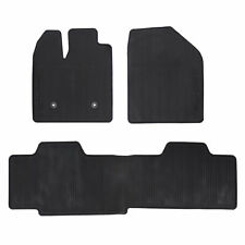 Oem New Front Rear All Weather Floor Mats Black   Ford Edge Dtzaa