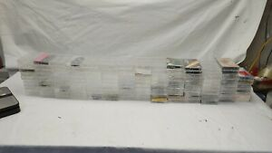 Cassette Tape Cases Boxes Lot 160 One Gross Clear Clean Used and new mix jewel