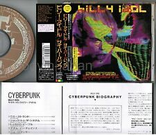 BILLY IDOL Cyberpunk JAPAN CD w/INSERT+PS TOCP-7793 w/OBI+INSERT Free S&H/P&P