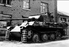 4141 WW2 Photo WWII  Destroyed German 88mm Gun  in Egypt 1944 World War Two