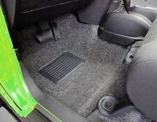 BedRug 3-Piece Front Carpet Kit 2007-2010 2-Door Jeep Wrangler JK BRJK07F2