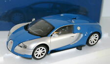 MINICHAMPS 1/18 100110850 BUGATTI VEYRON L'EDITION CENTENAIRE 2009 CHROME / BLUE