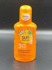 SUNDANCE Transparentes Sonnenspray LSF 30 HOCH Sonnenschutz, 200 ml