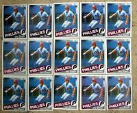 1985 - Topps #500 - Mike Schmidt Phillies HOF - 15ct Card Lot