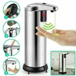 Automatic Soap Dispenser Hands-Free IR Sensor Touchless Auto Liquid Hand Wash