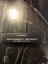 MAC Studio Stick Foundation SPF 15 (Select Shade) NIB 100% Authentic Discontinue