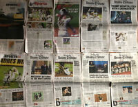 San Diego Union-Tribune 2020 Lot of 10 Newspapers Padres Playoffs