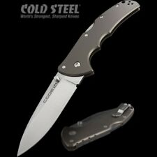 Couteau Cold Steel Code 4 Spear Point Lame Acier S35VN Manche Aluminium CS58PS
