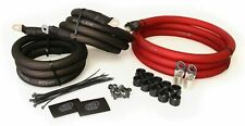 Xs Power Big3Xp-Rd 1/0 Gauge Awg 250 Amp Big 3 Alternator Cable Upgrade Wire Kit