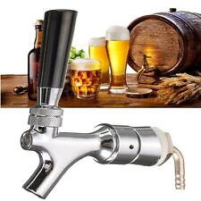 Beer Tap Faucet Draft Shank w/ Elbow 1-2/5''X3/16'' Brass Tube For Kegerator PF