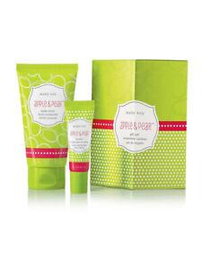 NEW Mary Kay Apple & Pear Gift Set Inc. Body Lotion 73ml & Lip Balm 8g