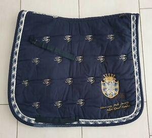 Dressurschabracke HV Polo, blau, WB