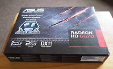 ASUS. RADEON HD 6670. 2GB DDR3 DX11 Graphic Card.